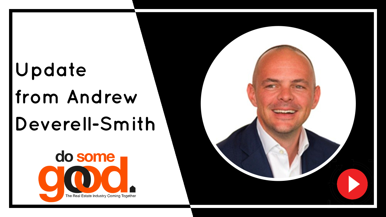 Update from Andrew Deverell-Smith on Do Some Good